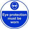 Eye Protection Must Be Worn Anti-slip