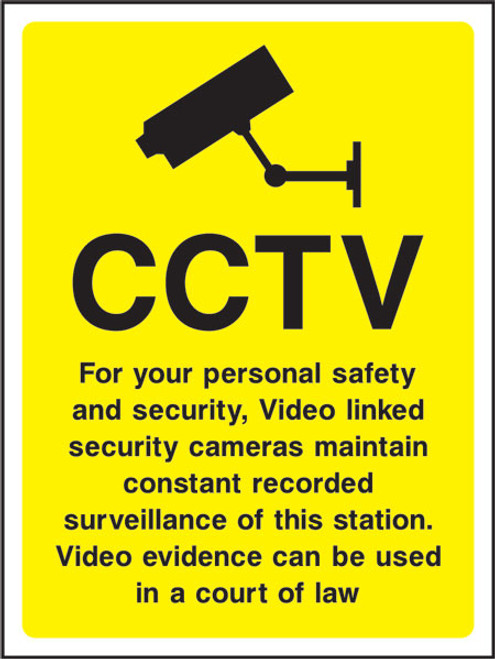 CCTV for your personal safety...