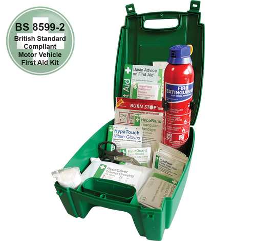 Truck and Van First Aid Kit with Fire Extinguisher