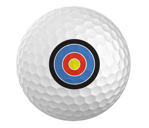 Bullseye Golfball Set of 3