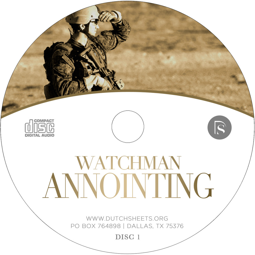 Watchman Anointing (2 CD Series)