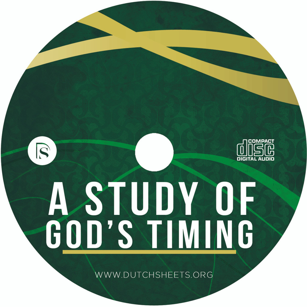A Study of God's Timing (CD)