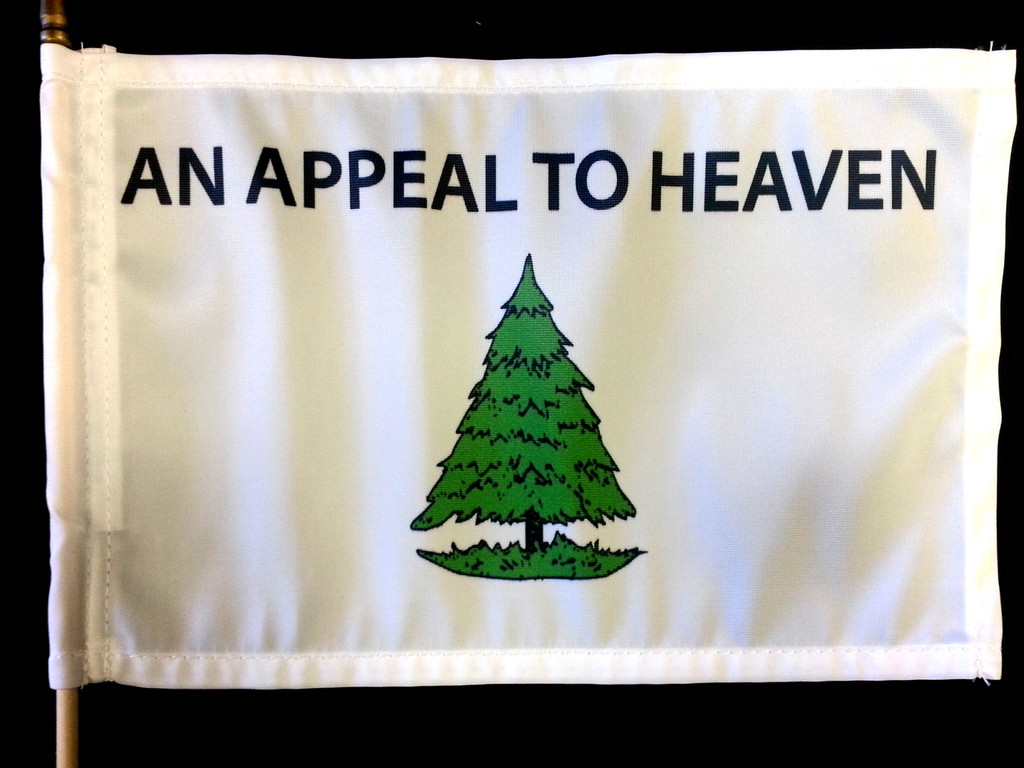"Small Appeal to Heaven Flag (8.5"" x 12.5"")"