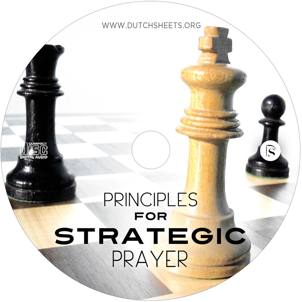 Principles For Strategic Prayer (CD)