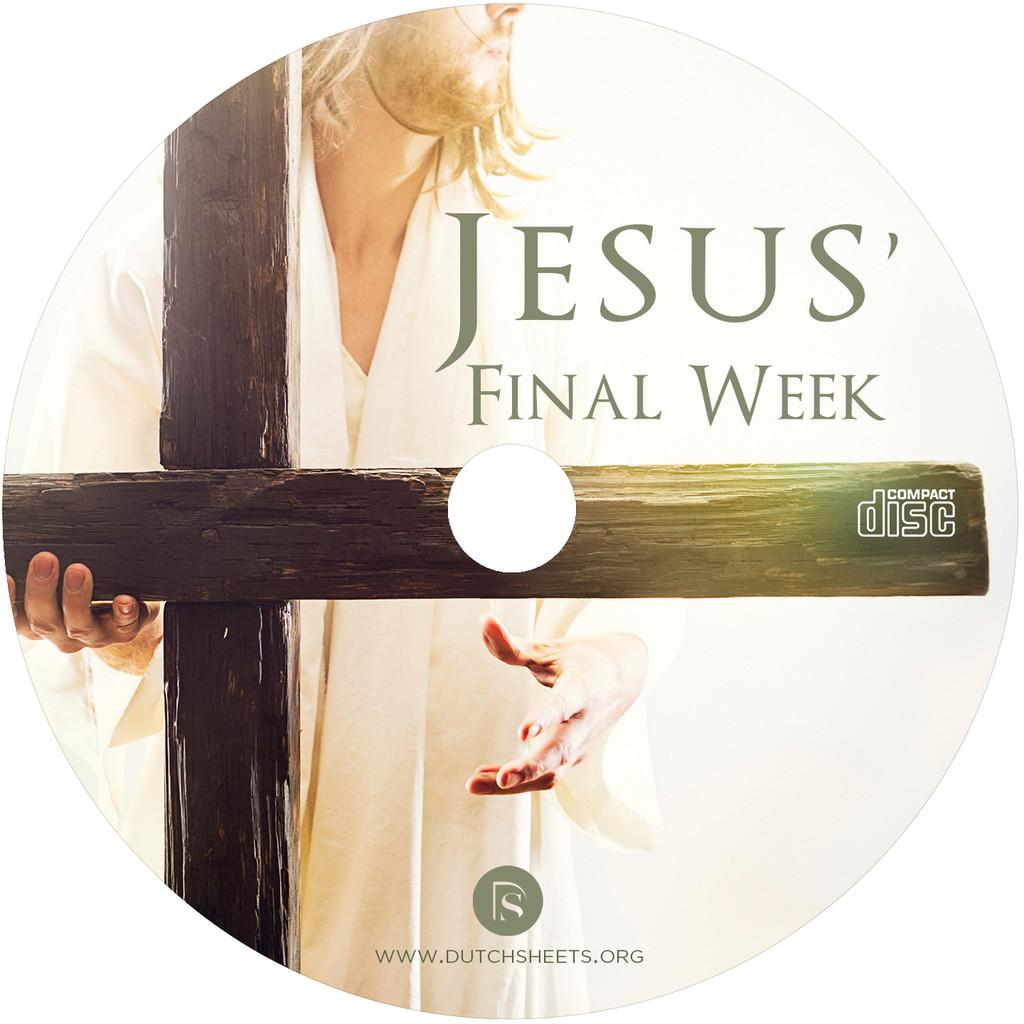 Jesus' Final Week (CD)