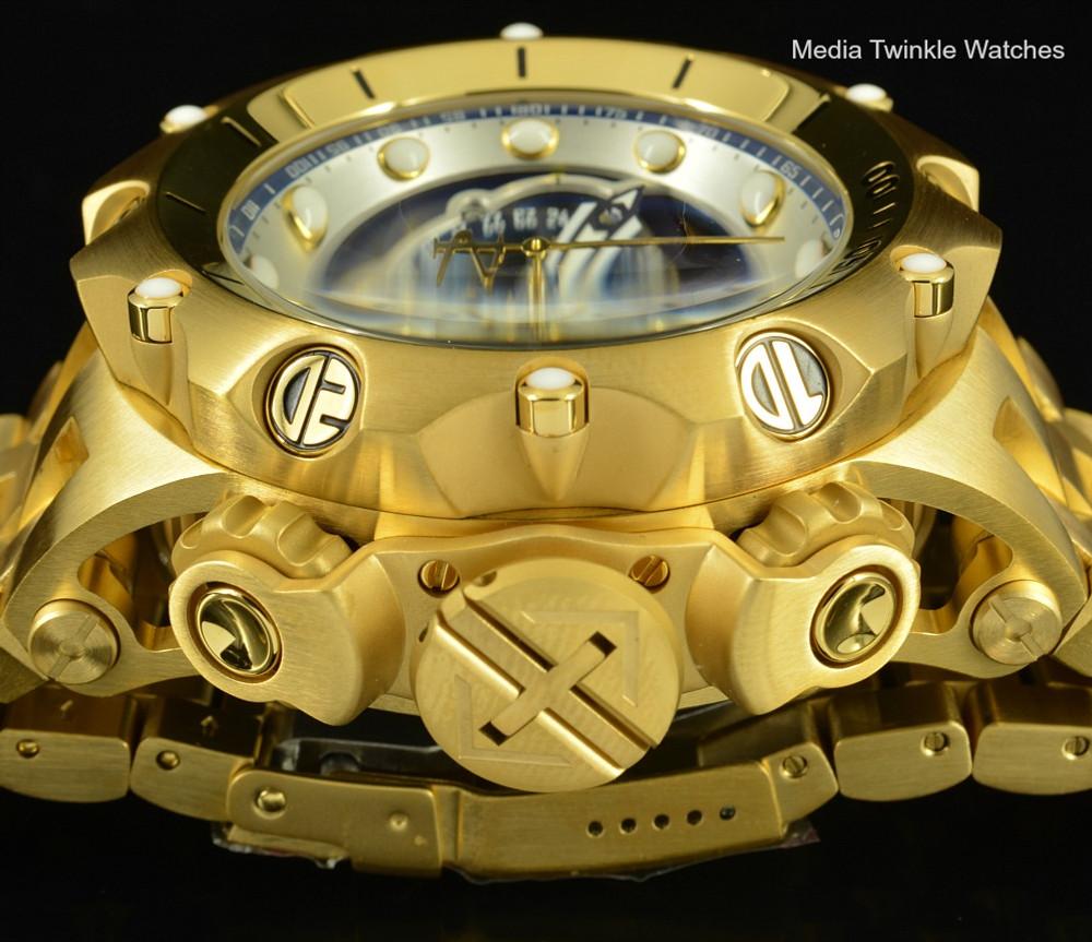 Invicta 16805 Reserve VENOM Hybrid Gold 5040F Swiss Quartz Chronograph Bracelet Watch | Free Shipping
