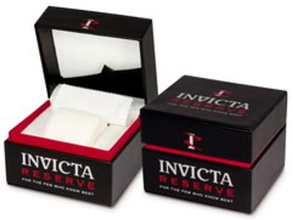 Invicta 16803 Reserve VENOM Hybrid Silver Tone 5040F Swiss Quartz Chronograph Bracelet Watch | Free Shipping