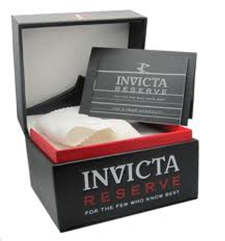 Invicta 11000 Reserve Men's Excursion Rose Tone Dial Swiss Quartz Chronograph Bracelet Watch | Free Shipping