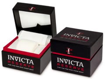 Invicta 16802b Reserve 52MM VENOM Hybrid Blue Dial Silver Tone 5040F Swiss Quartz Chronograph Bracelet Watch | Free Shipping