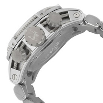 Invicta 0820 Reserve Bolt Zeus Swiss Made Quartz Chronograph Mother-of-Pearl Dial Bracelet Watch (Zeus) | Free Shipping