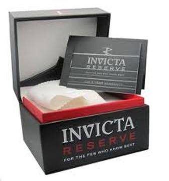 Invicta 0341 Reserve FULL SIZE Men's Arsenal Swiss Quartz Big Date Stainless Steel Bracelet Watch | Free Shipping