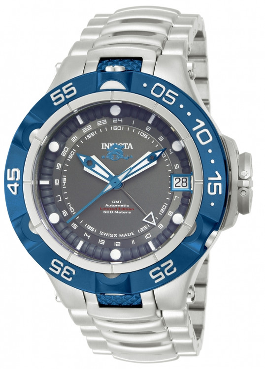 Invicta 12877 Men's Subaqua Noma V Limited Edition A07 Valgranges Automatic GMT Bracelet Watch | Free Shipping