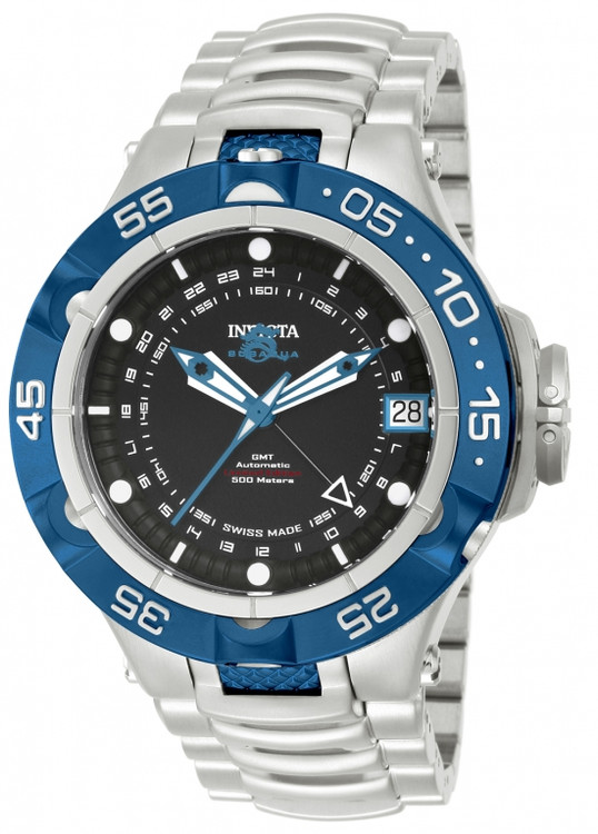 Invicta 12878 Men's Subaqua Noma V Limited Edition A07 Valgranges Automatic GMT Bracelet Watch | Free Shipping