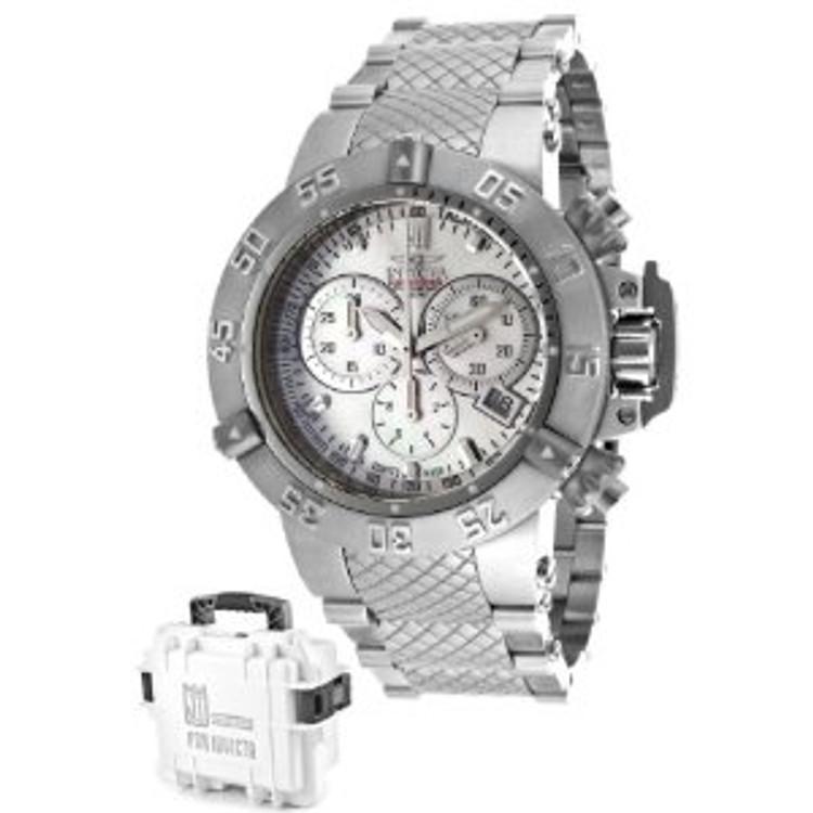 Invicta 14598 Women's Jason Taylor Limited Edition Subaqua Noma III Bracelet Watch w/ Three-Slot Dive Case | Free Shipping