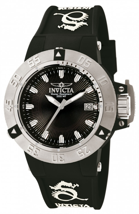 Invicta 10113 Women's Subaqua Noma III Anatomic Quartz Silicone Strap Watch | Free Shipping
