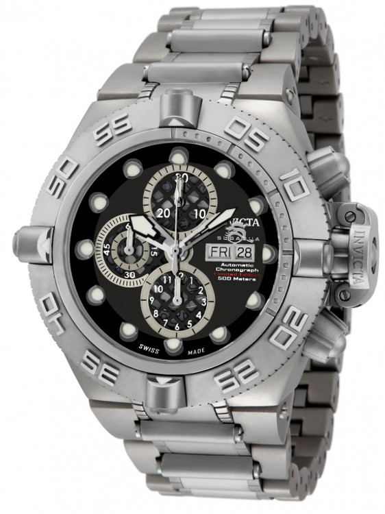 Invicta 11046 Men's Subaqua Noma IV Limited Edition Swiss Valjoux 7750 Automatic Titanium Watch | Free Shipping