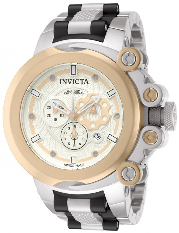 Invicta 11652 Coalition Forces Trigger Swiss Made Chronograph Stainless Steel Bracelet Watch | Free Shipping