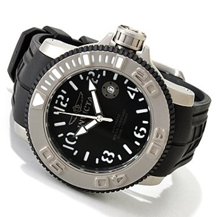 Invicta 1071 Sea Hunter Swiss Made Automatic Exhibition Watch