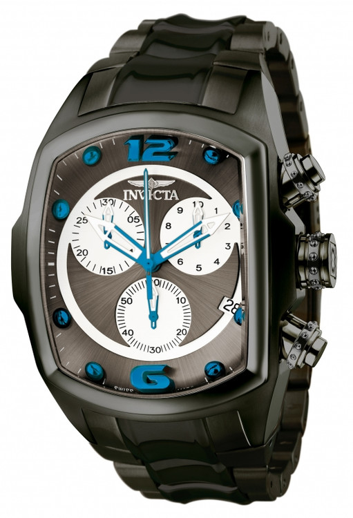 Invicta 1687 Men's Lupah Revolution Swiss Made Chronograph Bracelet Watch | Free Shipping