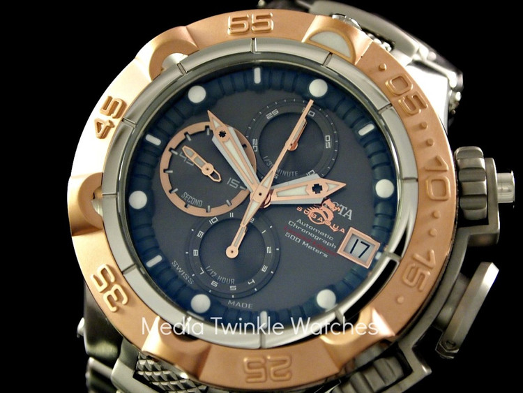 Invicta 12868 Men's Subaqua Noma V Limited Edition A07 Valgranges Automatic Chronograph Bracelet Watch | Free Shipping