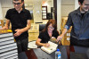 Book Signing at our offices, with our staff