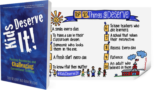 Kids Deserve It! Book + Poster
