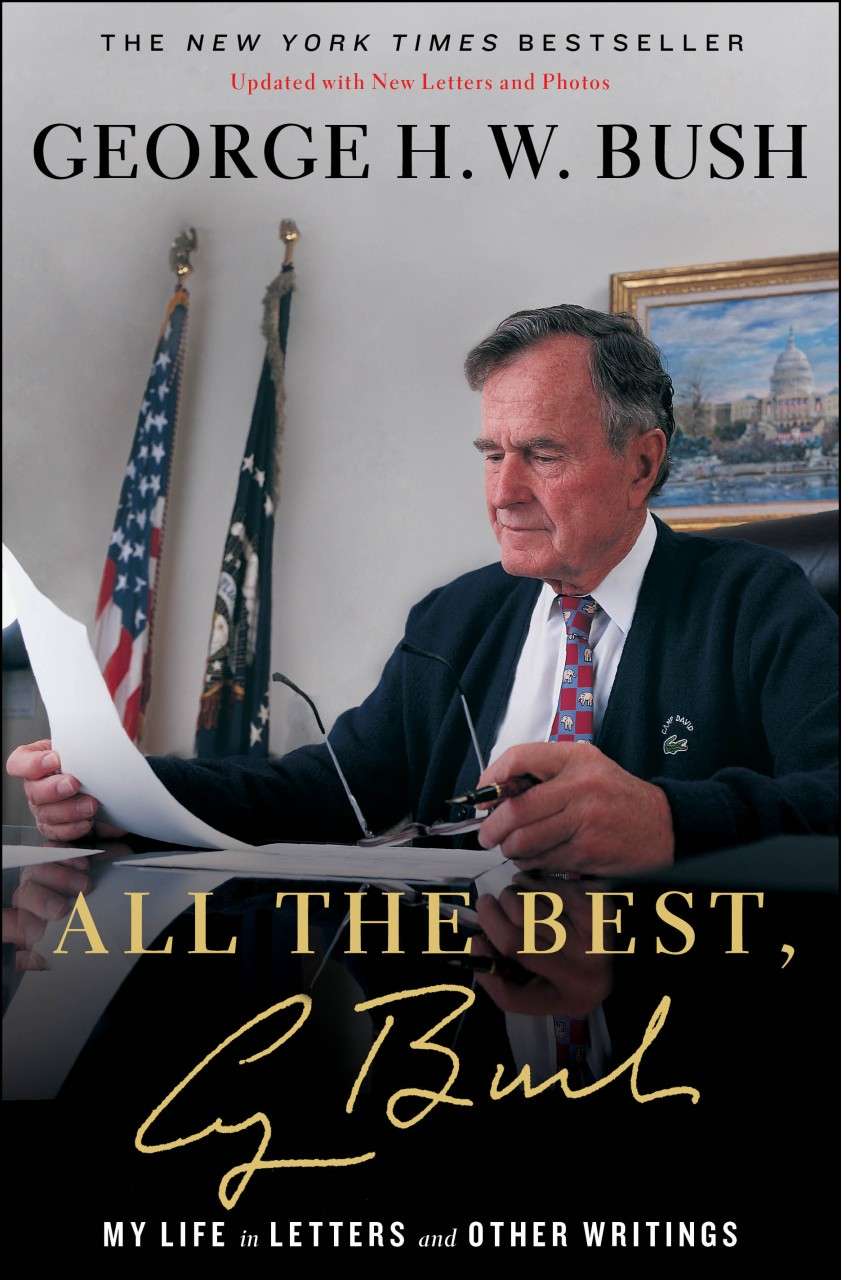 All The Best Autographed Bookplate by George Bush