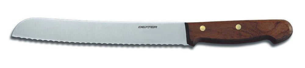Dexter Russell 7 Piece Traditional Knife Slant Block Set Walnut Handles VB3982