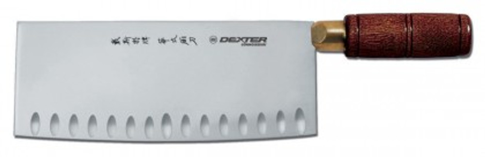"""S5198GE Dexter 8""""x 3 1/4"""" Chinese  Duo Edge Chefs Knife"""