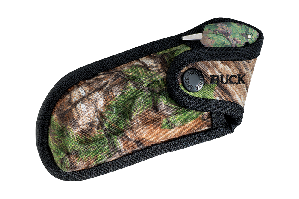 Buck 395 Folding Omni Hunter 10PT Camo  (7494)