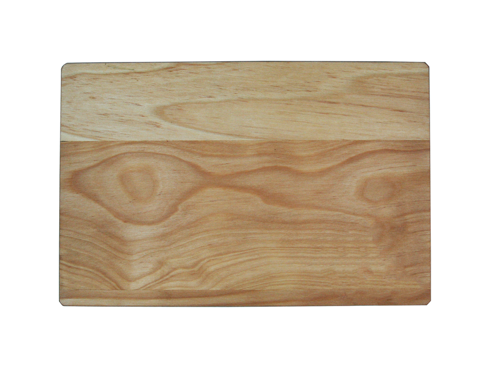 Hardwood Maple Reversible Cutting Board with Juice Ring 13 x 8 5/8