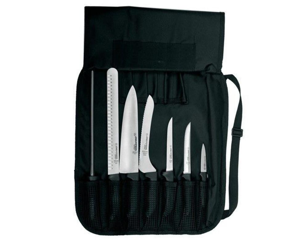 Dexter Russell SofGrip 7 PC. Cutlery Set Black Handles 20713 SGBCC-7