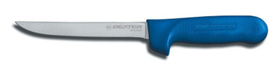 "Dexter Russell Sani-Safe 6"" Narrow Boning Knife Blue Handle 1563c S136NC-PCP"
