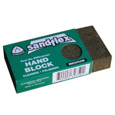 Sandflex multi-purpose flexible abrasive scrub block knife tool polishing rust remover Medium SF106MED