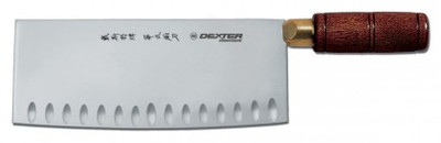 """Dexter 8"""" x 3¼"""" Duo-Edge Chinese Chef's Knife 8282 82CE-8PCP"""
