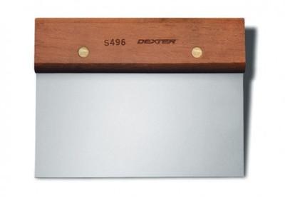 """Dexter Russell Traditional 6""""x 3"""" Dough Cutter/Scraper 19790 S496"""