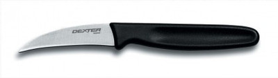 "Dexter Russell Basics 2 1/2"" Tourne Knife Black Handle 15153 S102B"