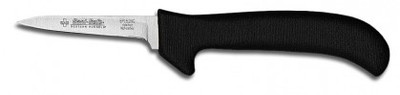 "Dexter Russell Sani-Safe 3 1/4"" Clip Point Deboning Poultry Knife Black Handle 11193B EP152HGB (11193B)"