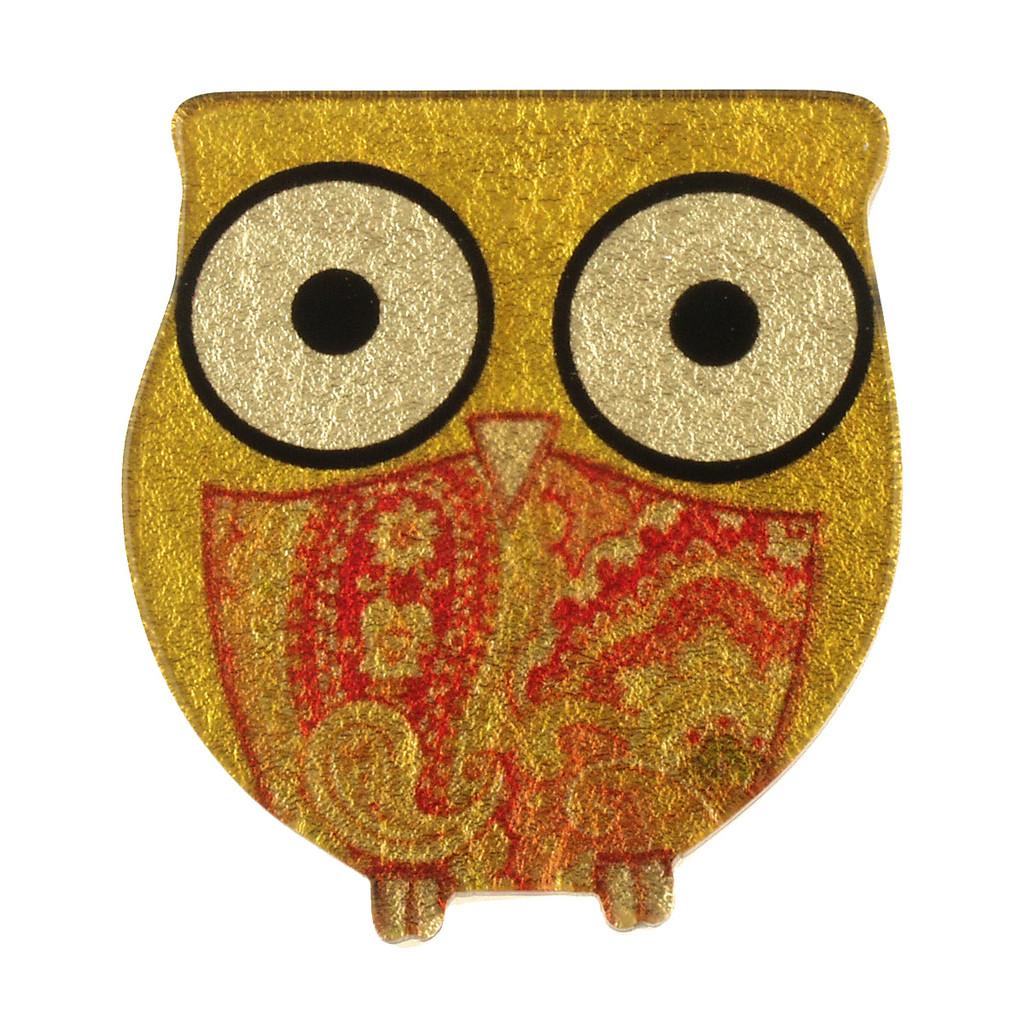 4040-4 - Owl Brooch