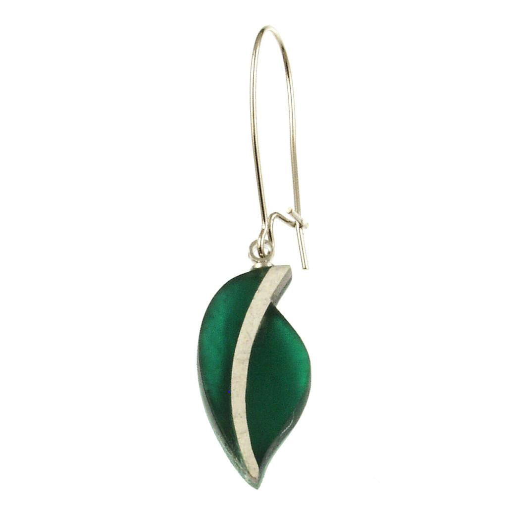 2261-3 - Autumn Leaves Earring Emerald