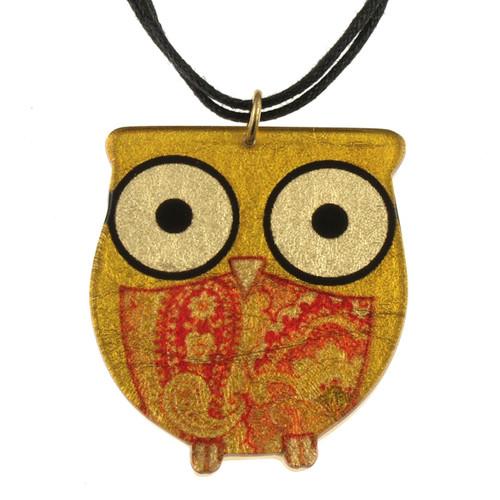 4025-1 - Owl Pendant