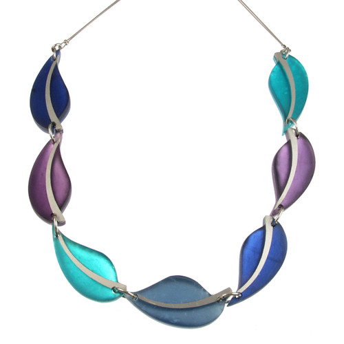 2258-8 - Autumn Leaves Necklace Haze