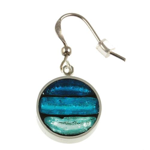 2162-2 - Gradient Earrings Turquoise