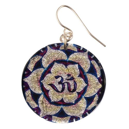 4120-18 -  OM Mandala Earring