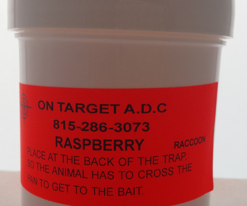 Raspberry paste bait 6oz