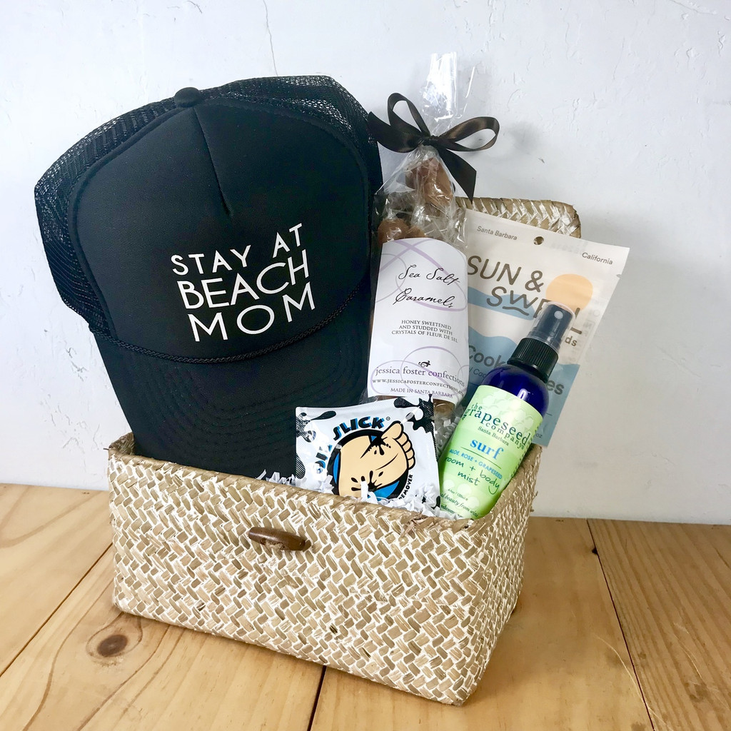 Stay at Beach Mom Basket