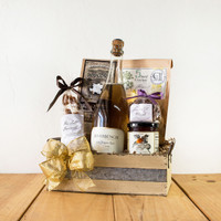 Pink Champagne Celebration Gift Crate