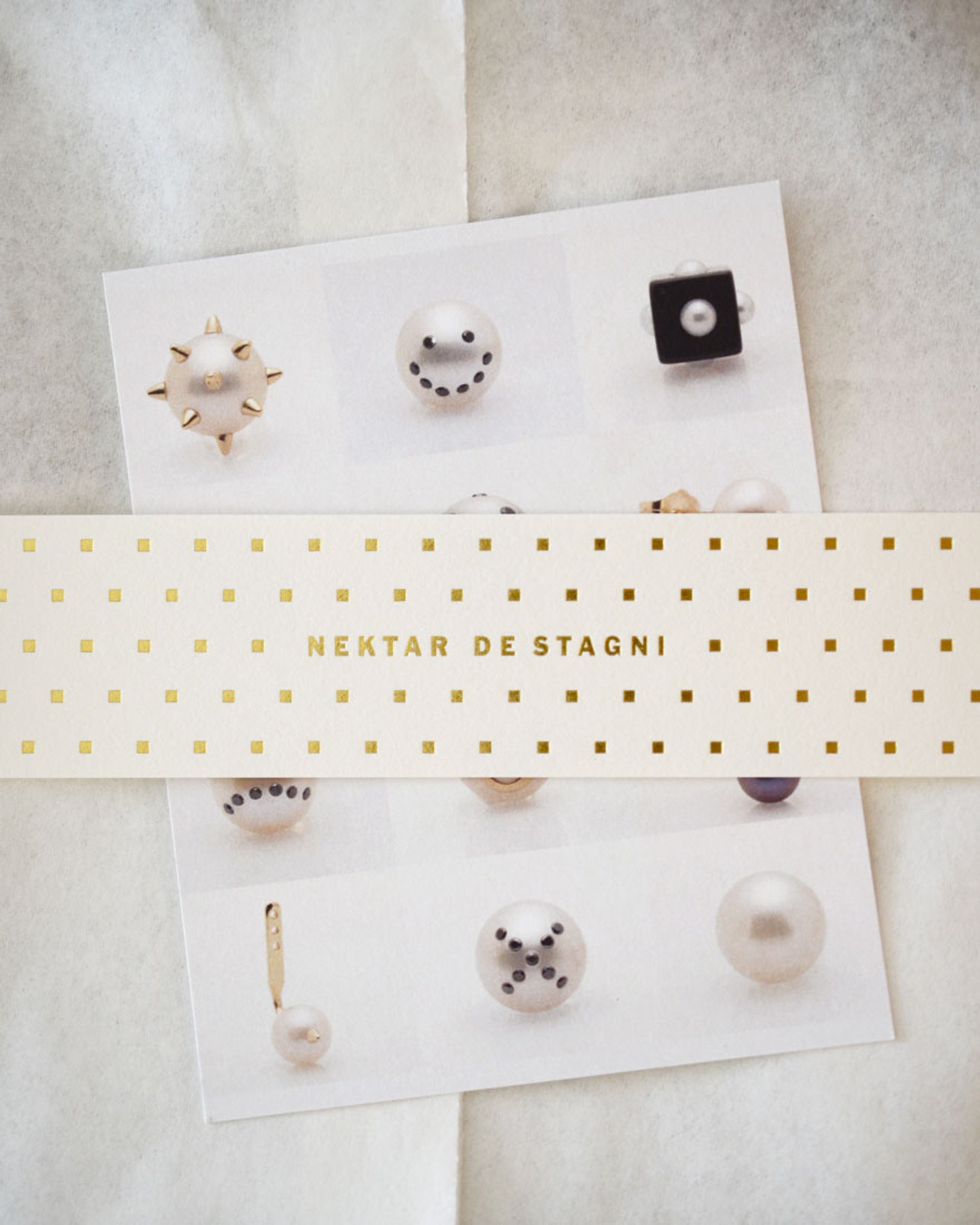 Fine Jewelry Gift Packaging by Designer Nektar De Stagni