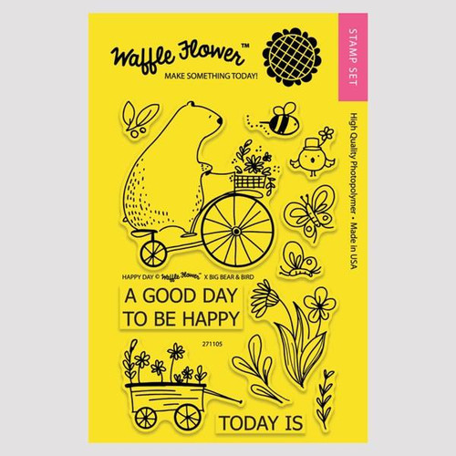 Happy Day Stamp Set by Waffle Flower