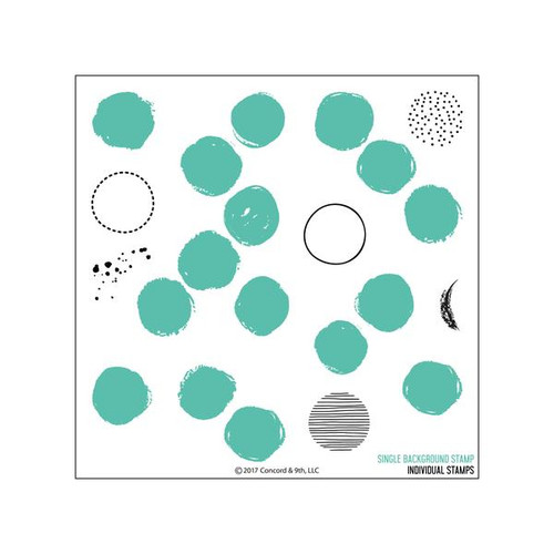 Dotty Turnabout Stamp Set by Concord & 9th